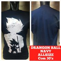 kaos combed navy dragon ball dragonball son goku anime manga komik