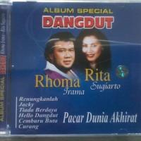 CD RHOMA IRAMAM- RITA SUGIARTO : ALBUM SPESIAL DANGDUT