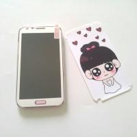 Skin Samsung Note2 girl in white special price