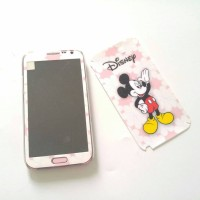 Skin Samsung Note2 disney mickey mouse bagus