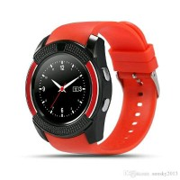 harga Jam Tangan Pintar Smart Watch V8 Bluetooth Sim Card Memory Whatsapp Tokopedia.com