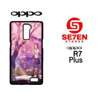 Casing Hp Oppo R7 Plus Anime Wallpapers Custom Hardcase Cover