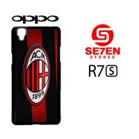 Casing Hp Oppo R7S AC Milan 3D Logo Custom Hardcase Cover