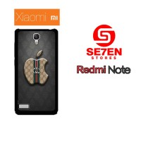 Casing Hp Xiaomi Redmi Note 1 Apple Gucci Custom Hardcase Cover