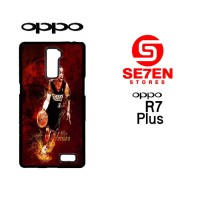 Casing Hp Oppo R7 Plus allen iverson 76ers Custom Hardcase Cover