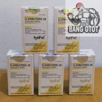 Keifei Pharma Clenbuteric-20 (Clenbuterol 20mg x 100tabs)