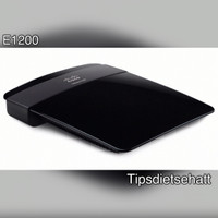 LINKSYS E1200 (N300) Wireless N Router