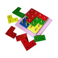 Mainan Edukatif Tetris 4 Susun