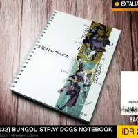 [NB 032] BUNGOU STRAY DOGS NOTE BOOK