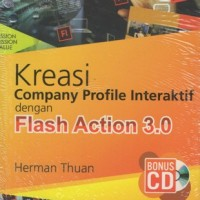 KREASI COMPANY PROFILE INTERAKTIF DENGAN FLASH ACTION 3.0+CD