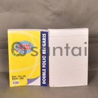 harga Kertas Double Folio Bergaris Sinar Dunia 200 Lembar Tokopedia.com