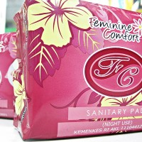 AVAIL NIGHT USE   SANITARY PAD   FC FEMINIM CONFORT   1pack@10lembar