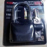 Original - Gembok Anti Maling kinbar / gembok alarm kinbar