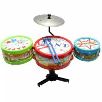 Mainan anak mini drum set