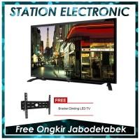 Sharp Aquos LC-40LE185i TV LED [40 Inch/FHD/Black] + Bracket
