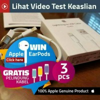 Jual GARANSI 2 bulan charger kabel data usb iphone 5 6 7 iphone 5s 6+ 7+ Murah