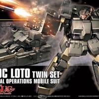 HG / HGUC 1/144 D-50C Loto Twin Set