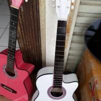 Jual paket hemat gitar akustik murah meriah Murah