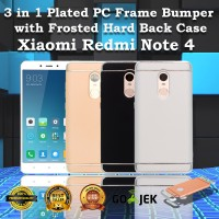 Jual Hardcase 3 in 1 Plated Rubber Coating For Xiaomi Redmi note 4 Murah