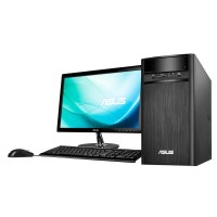 Pc Asus desktop k31cd-id010d i3 6100/4gb/1tb /win 10 new resmi