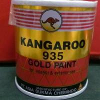 CAT WARNA EMAS KANGAROO GOLD 935 ( 100 ML ) / CAT MINYAK BESI KANGGURU