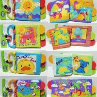 TEETHER BOOK CARTER MASTELA buku kain mainan anak bayi edukatif toys
