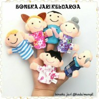 PAKET HEMAT BONEKA JARI 2 IN 1 ANIMAL & FAMILY