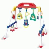 Distributor Pusat Baby's Musical PlayGym baby Toy.Merangsang motorik