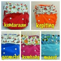 Pempem Snap kancing plus insert Litty bamboo all size,clodi celana