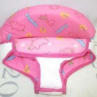 Jok Kain Baby Walker Family Seri 20 Pink