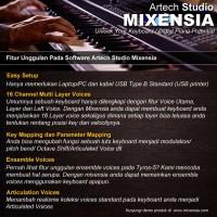 jual software artech studio mixensia for keyboard digital piano arttech tokopedia. Black Bedroom Furniture Sets. Home Design Ideas