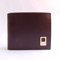 Sale DOMPET KULIT PRIA TIDUR IMPORT BRANDED | BALLY 196-2495 COFFEE Be