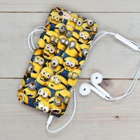 Jual Minion Caracter Pattern iphone case 5s oppo f1s redmi note 3 Murah