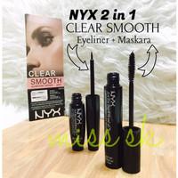 Jual HOT SALE NYX CLEAR SMOOTH 2 in 1 ( Eyeliner tattoo + Maskara ) Murah