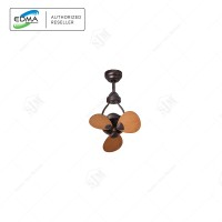 MT. EDMA 15IN MINI Kipas Angin Gantung / Ceiling Fan / Hias