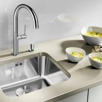 Kitchen Sink BLANCO SUPRA 450-U + Keran BLANCO MIDA HD - SPECIAL PROMO