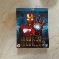 Jual turub harga bluray disc iron man 1 dan 2 boxset Murah