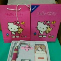 Jual power bank paket hello kitty Murah