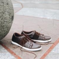 Sepatu Sneakers Pria Headway Win Brown - Headway Footwear