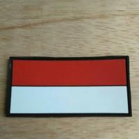 Jual pacth rubber bendera indonesia besar Murah