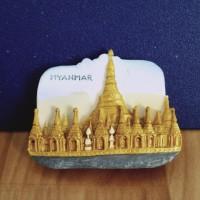 jualan souvenir magnet kulkas negara myanmar