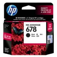 HP 678 BLACK INK CARTRIDGE - 100% ORIGINAL