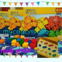 Mainan Block Susun merk COGO makibrix 45pcs Building Blocks SNI
