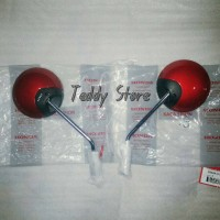 Spion Ori Ahm Honda Scoopy Fi Vogue Red Set Kanan & Kiri Original Ahm
