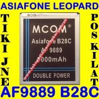 Jual Baterai Asiafone AF9889 Leopard B28C MCOM M COM Batrai Batre Battery Murah