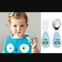 skip hop fork and spoon owl