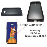 Samsung J5 Prime Rubbercase Black - Custom Case HP