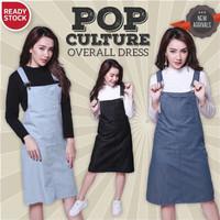 Pop culture overall dress/Dress denim/Dress overall