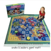 Mainan Anak Snakes & Ladders Giant Playmate / Matras Ular Tangga Besar