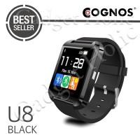 Jual Smartwatch U Watch U8 - Black Smart Watch Murah